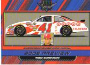 2006 Wheels High Gear #70 Reed Sorenson PREV CRC front image
