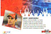 2006 Wheels High Gear #80 Jeff Gordon FF back image