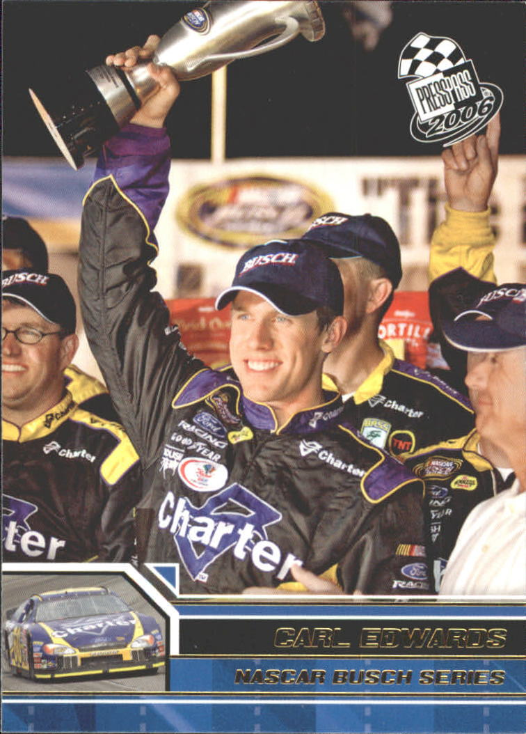 2006 Press Pass Gold #G42 Carl Edwards NBS