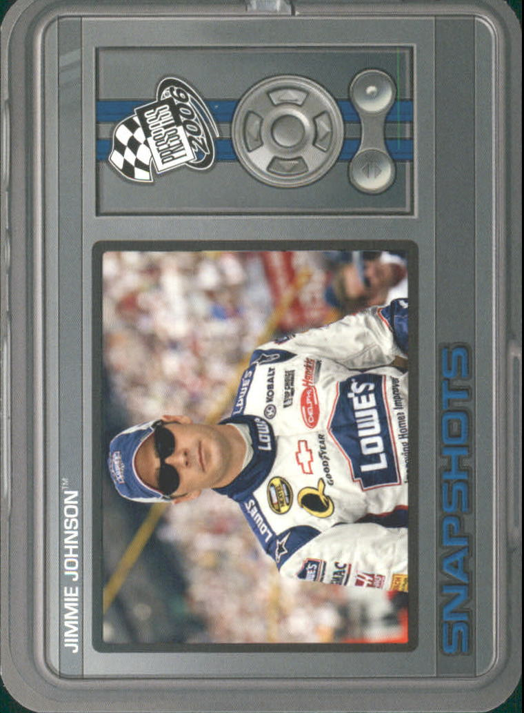2006 Press Pass Snapshots #SN7 Jimmie Johnson