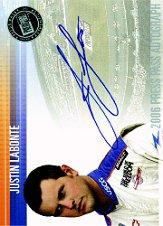 2006 Press Pass Autographs #32 Justin Labonte NBS