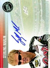 2006 Press Pass Autographs #35 Sterling Marlin NC