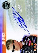2006 Press Pass Autographs #6 Jeff Burton NCS