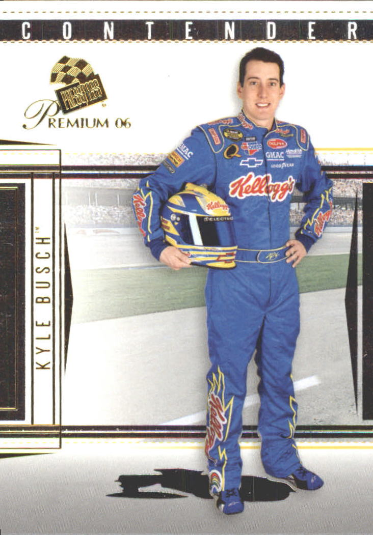 2006 Press Pass Premium #5 Kyle Busch front image