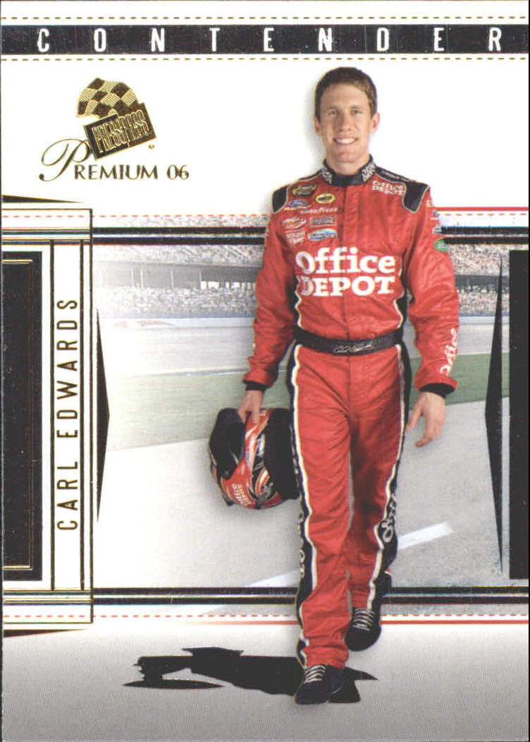 2006 Press Pass Premium #7 Carl Edwards