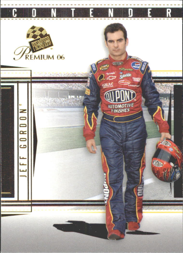 2006 Press Pass Premium #8 Jeff Gordon front image