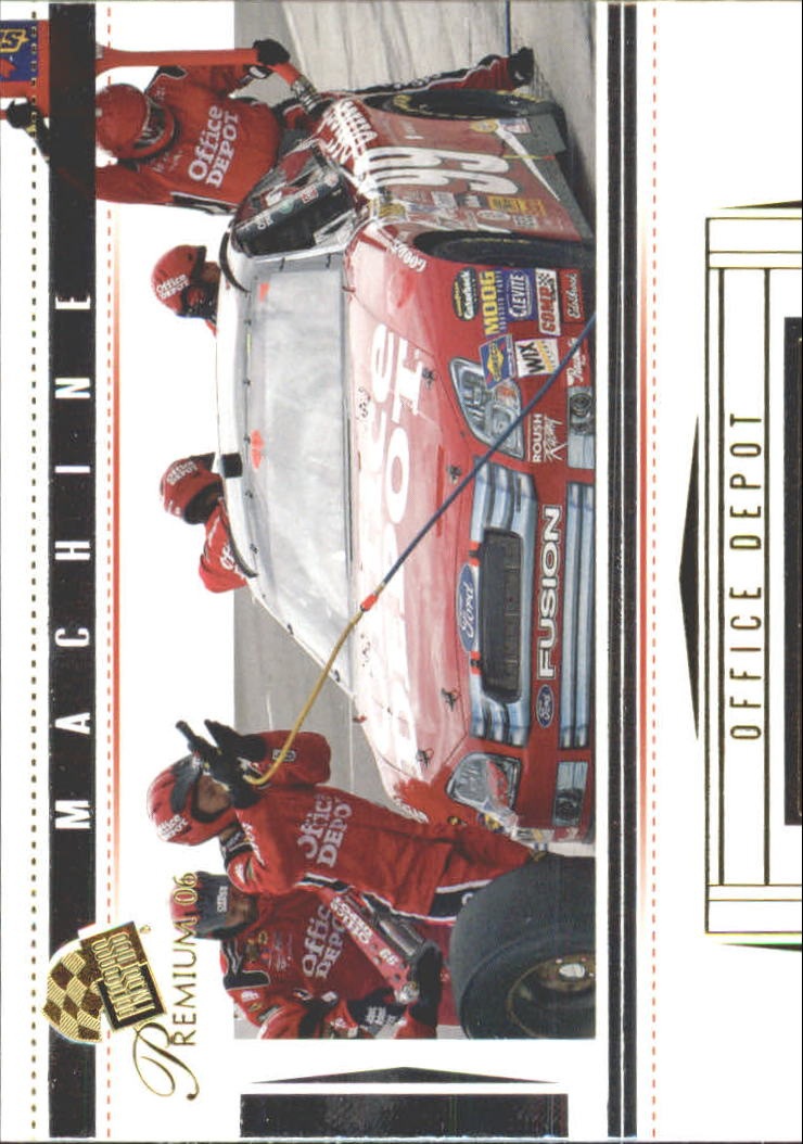 2006 Press Pass Premium #41 Carl Edwards' Car M