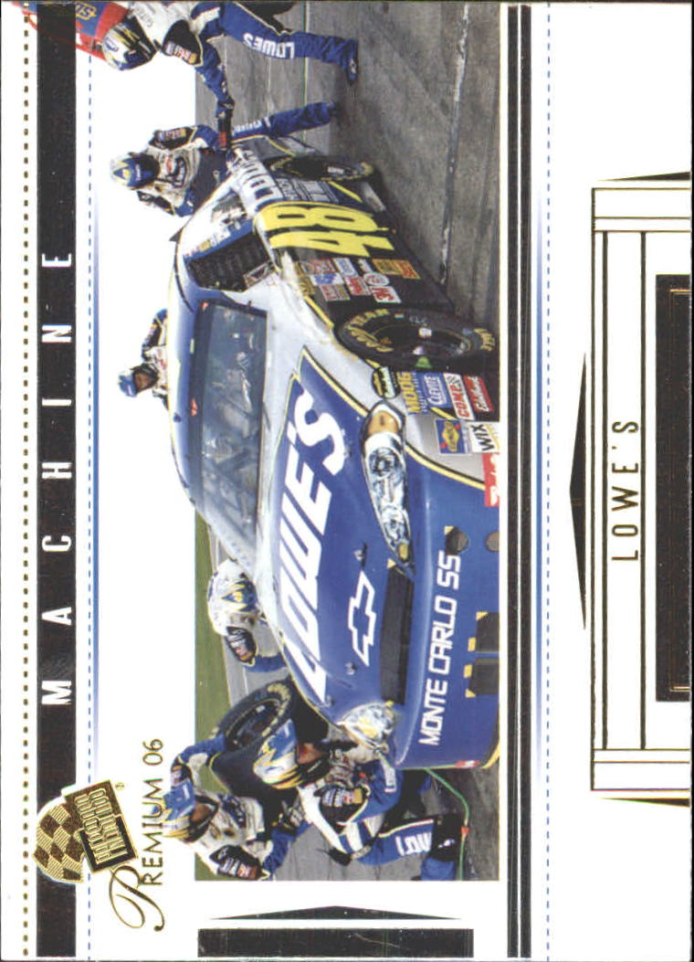 2006 Press Pass Premium #45 Jimmie Johnson's Car M