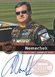 2006 Press Pass Signings #41 Joe Nemechek NC P/S