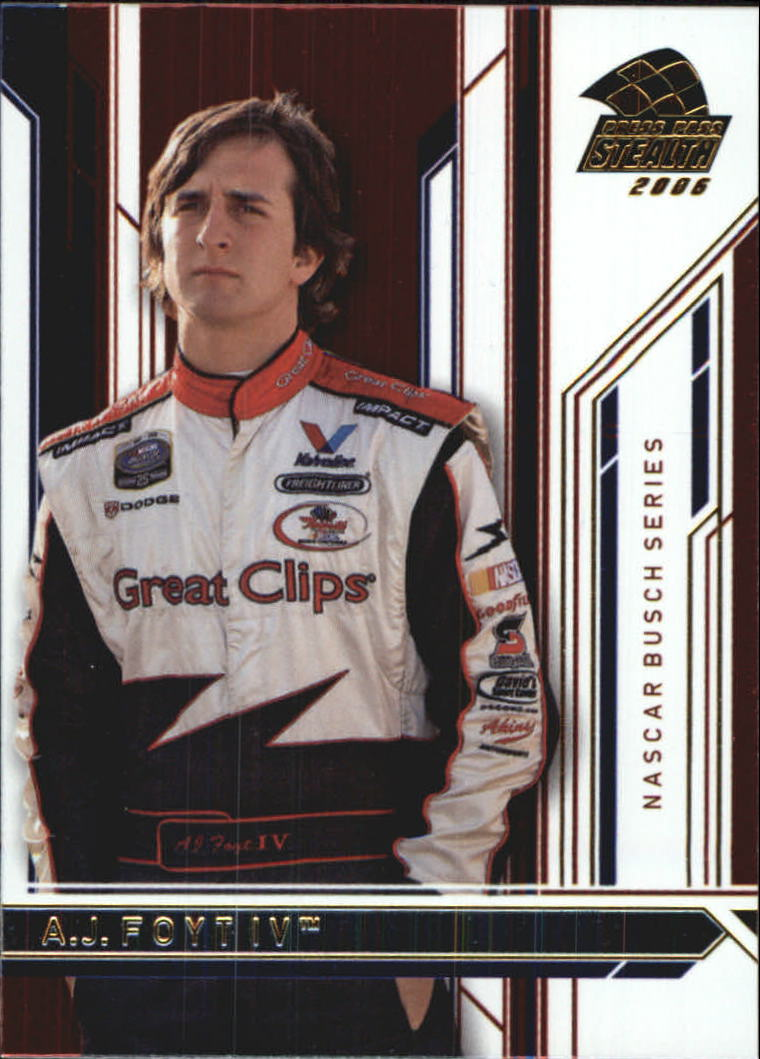2006 Press Pass Stealth #30 A.J. Foyt IV NBS RC