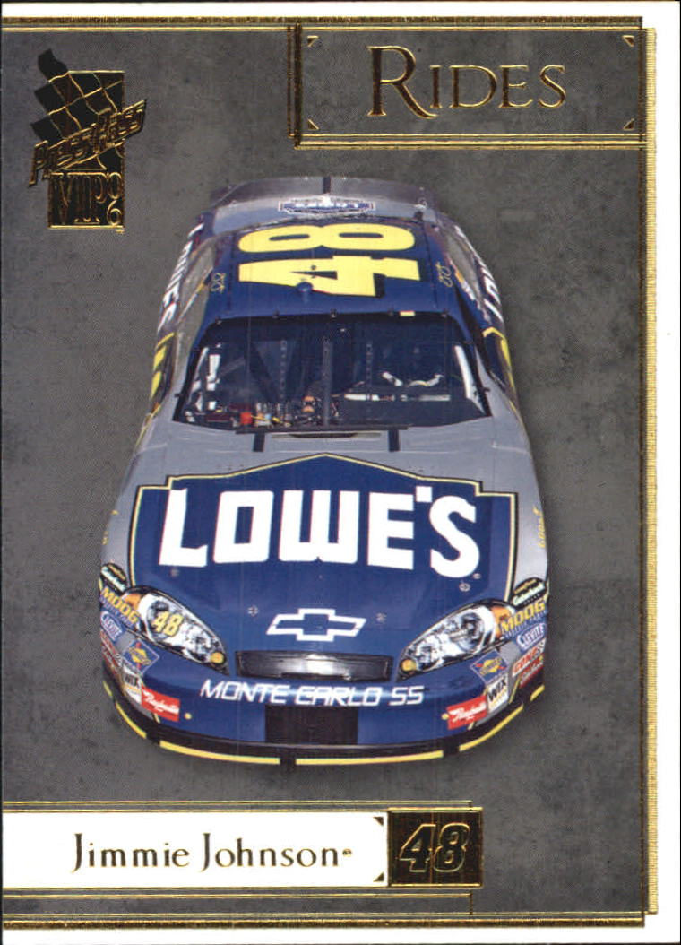 2006 VIP #35 Jimmie Johnson's Car R