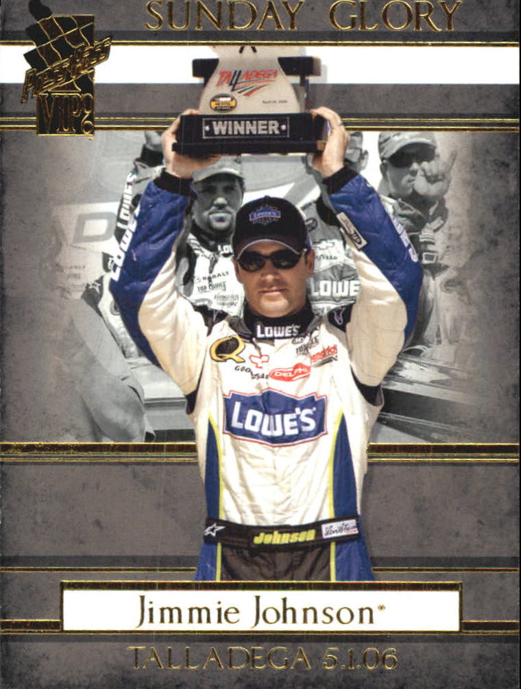 2006 VIP #48 Jimmie Johnson SG