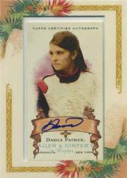 2006 Topps Allen and Ginter Autographs #DP Danica Patrick C/100 *