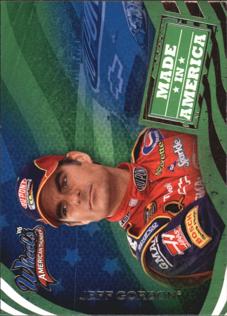 2006 Wheels American Thunder #73 Jeff Gordon MIA