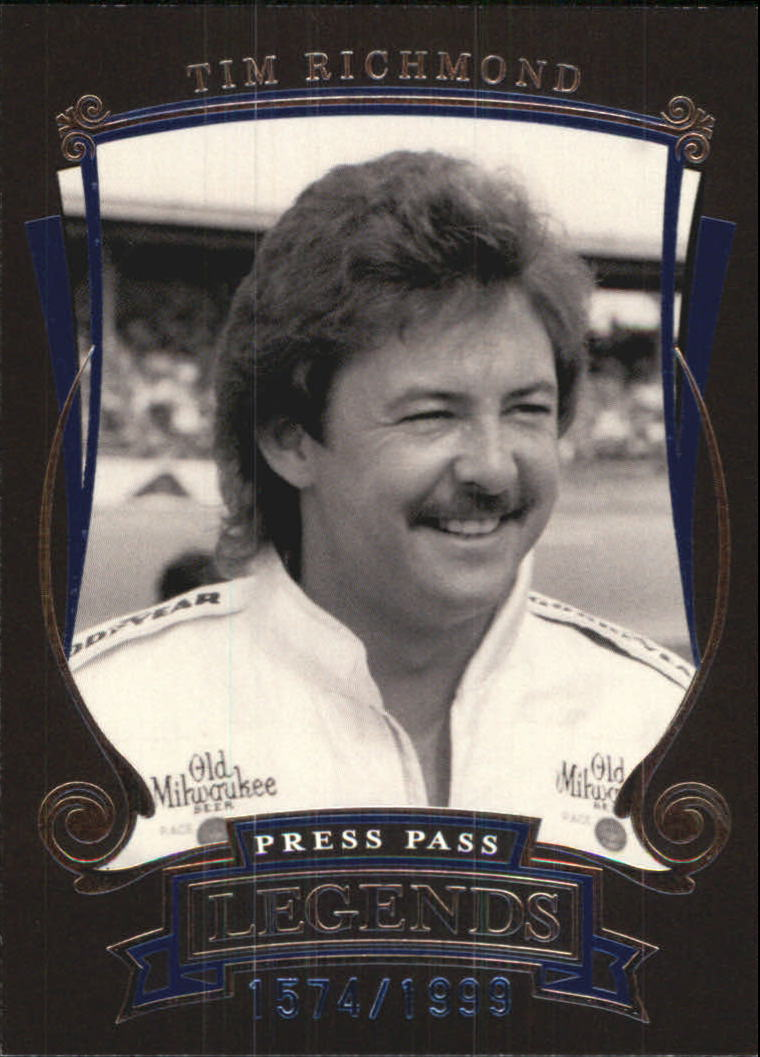 2006 Press Pass Legends Blue #B29 Tim Richmond