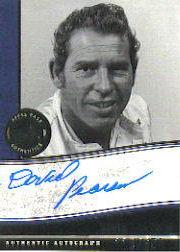 2006 Press Pass Legends Autographs Blue #13 David Pearson/650