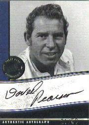 2006 Press Pass Legends Autographs Black #11 David Pearson/50