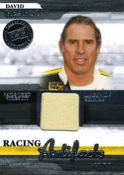2006 Press Pass Legends Racing Artifacts Firesuit Silver #DPF David Pearson
