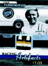 2006 Press Pass Legends Racing Artifacts Firesuit Patch #CYF Cale Yarborough