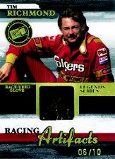 2006 Press Pass Legends Racing Artifacts Glove #TRG Tim Richmond
