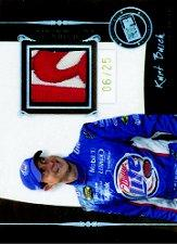 2006 Press Pass Legends Champion Threads Patch #CTKB Kurt Busch