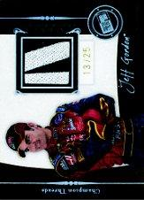 2006 Press Pass Legends Champion Threads Patch #CTJG Jeff Gordon
