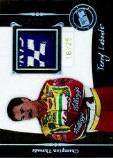 2006 Press Pass Legends Champion Threads Patch #CTTL Terry Labonte