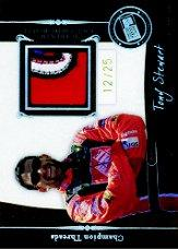 2006 Press Pass Legends Champion Threads Patch #CTTS Tony Stewart