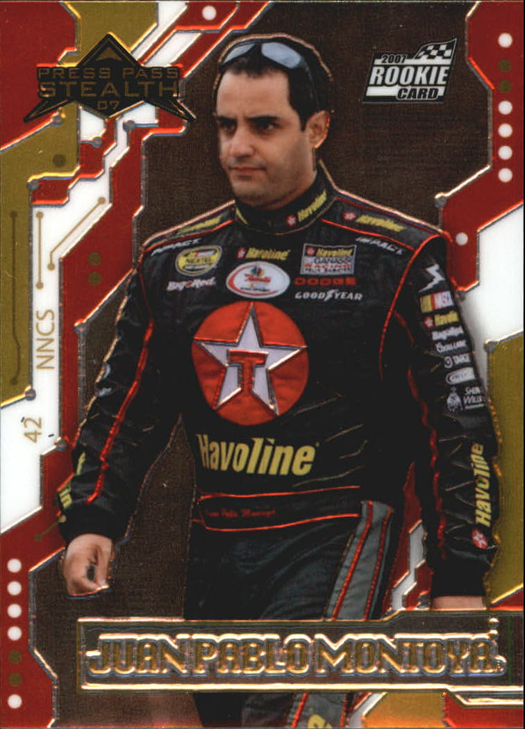 2007 Press Pass Stealth Chrome #32A Juan Pablo Montoya RC