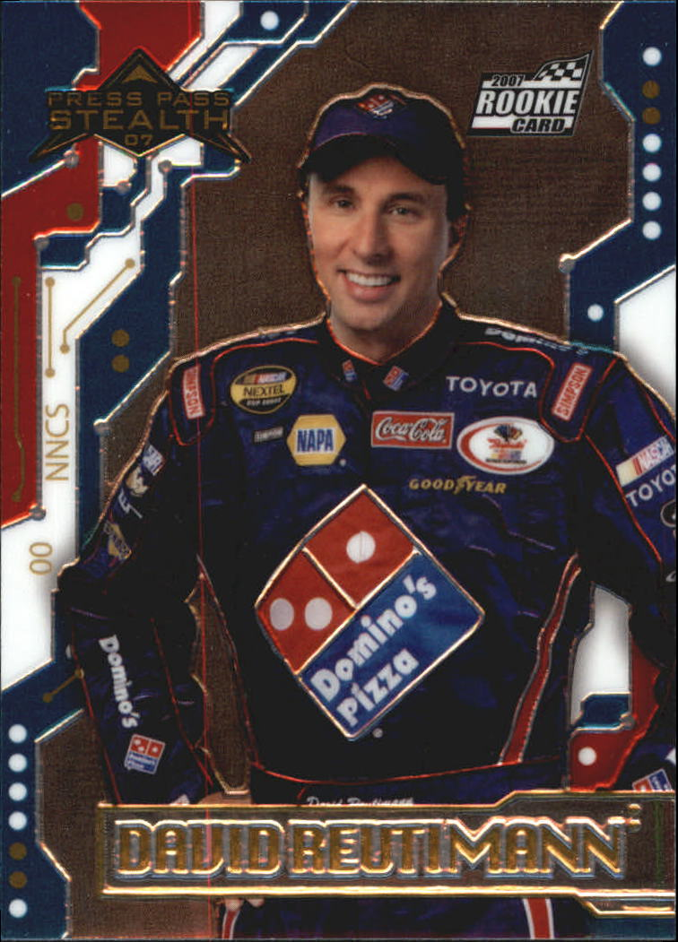 2007 Press Pass Stealth Chrome #34 David Reutimann RC