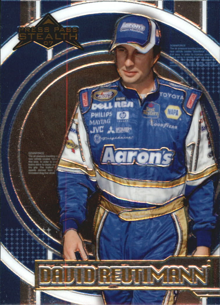 2007 Press Pass Stealth Chrome #43 David Reutimann NBS