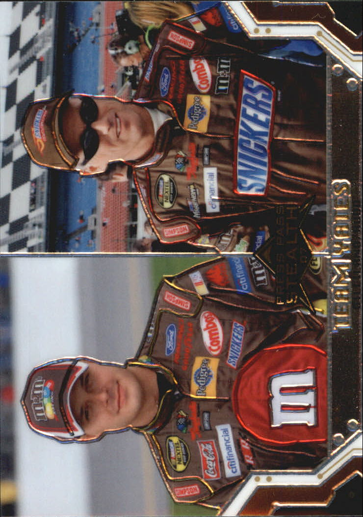 2007 Press Pass Stealth Chrome #66 David Gilliland/Ricky Rudd