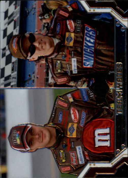 2007 Press Pass Stealth #66 David Gilliland/Ricky Rudd
