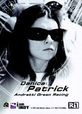 2007 Rittenhouse IRL Shades of Victory #R1 Danica Patrick back image