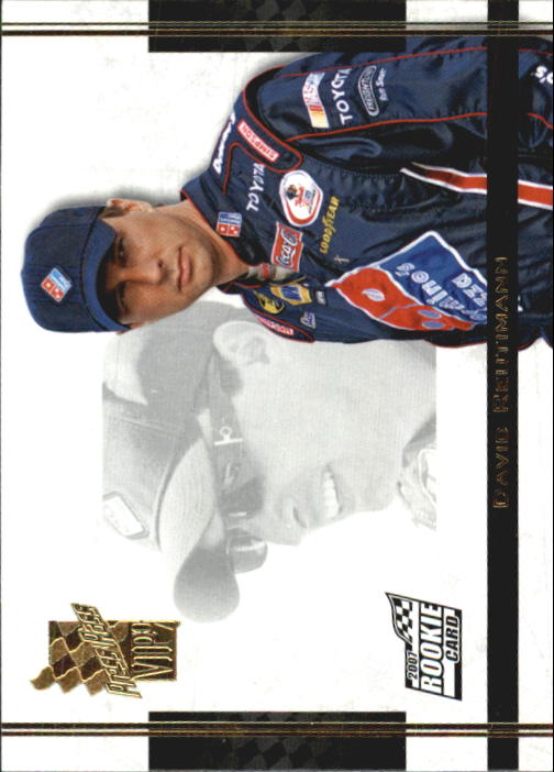 2007 VIP #89 David Reutimann SP RC