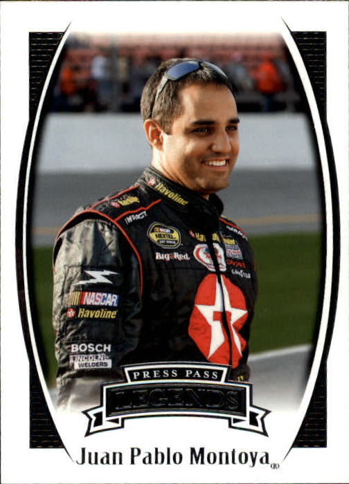 2007 Press Pass Legends #44 Juan Pablo Montoya RC