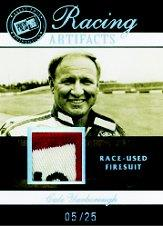2007 Press Pass Legends Racing Artifacts Firesuit Patch #CYF Cale Yarborough