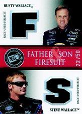 2007 Press Pass Legends Father and Son Firesuits Silver #BADAF B.Allison/Do.Allison