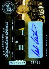2007 Press Pass Legends Signature Series #MM Mark Martin