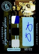 2007 Press Pass Legends Signature Series #JJ Jimmie Johnson