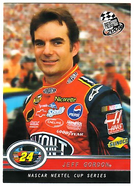2008 Press Pass #1 Jeff Gordon