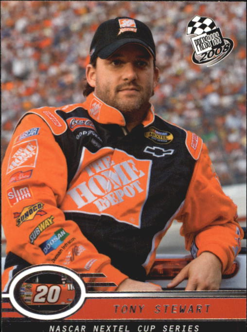 2008 Press Pass #2 Tony Stewart