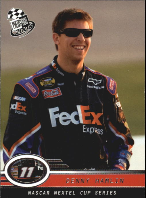 2008 Press Pass #3 Denny Hamlin