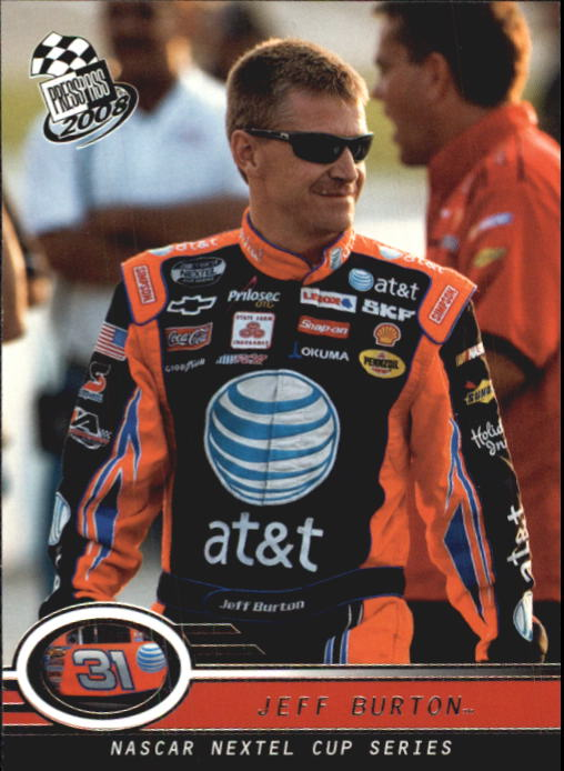 2008 Press Pass #7 Jeff Burton