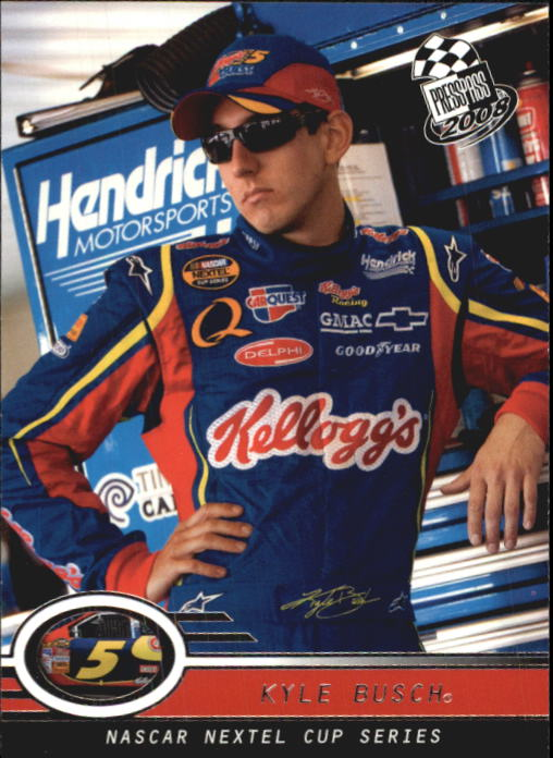 2008 Press Pass #8 Kyle Busch