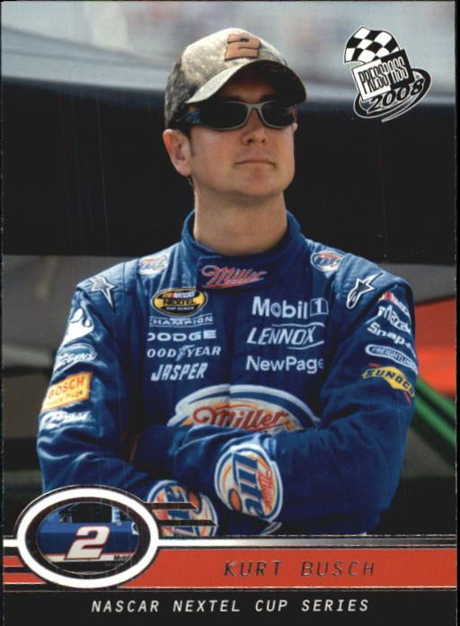 2008 Press Pass #12 Kurt Busch