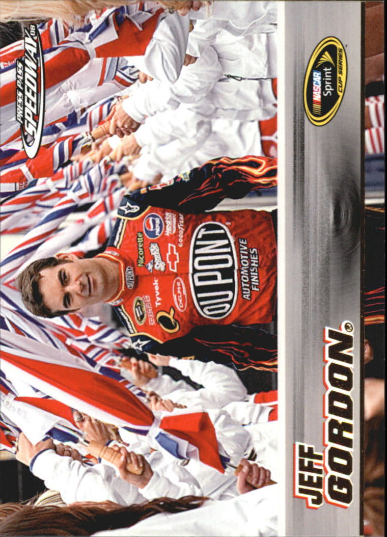2008 Press Pass Speedway Gold #G5 Jeff Gordon