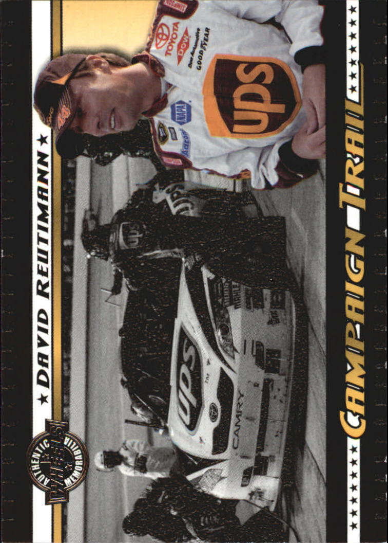 2008 Wheels American Thunder Campaign Trail #CT5 David Reutimann