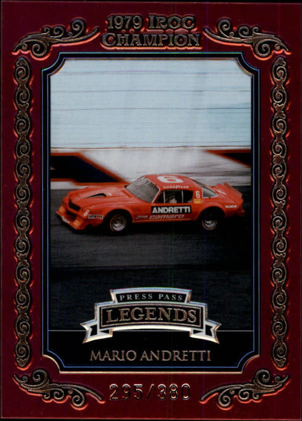 2008 Press Pass Legends IROC Champions #I4 Mario Andretti