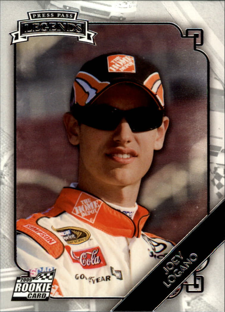 2009 Press Pass Legends #52 Joey Logano RC